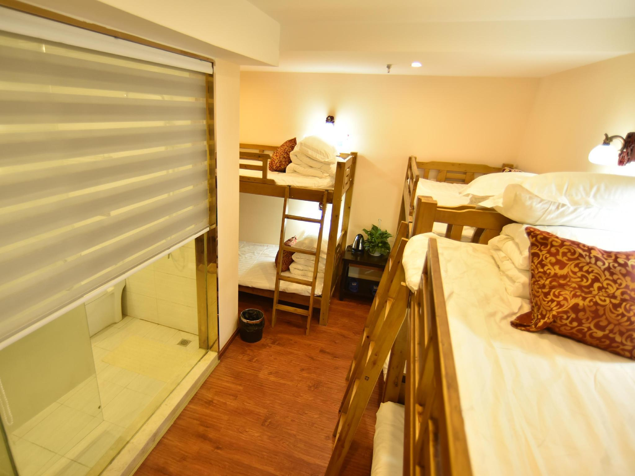 Six bed dormitory