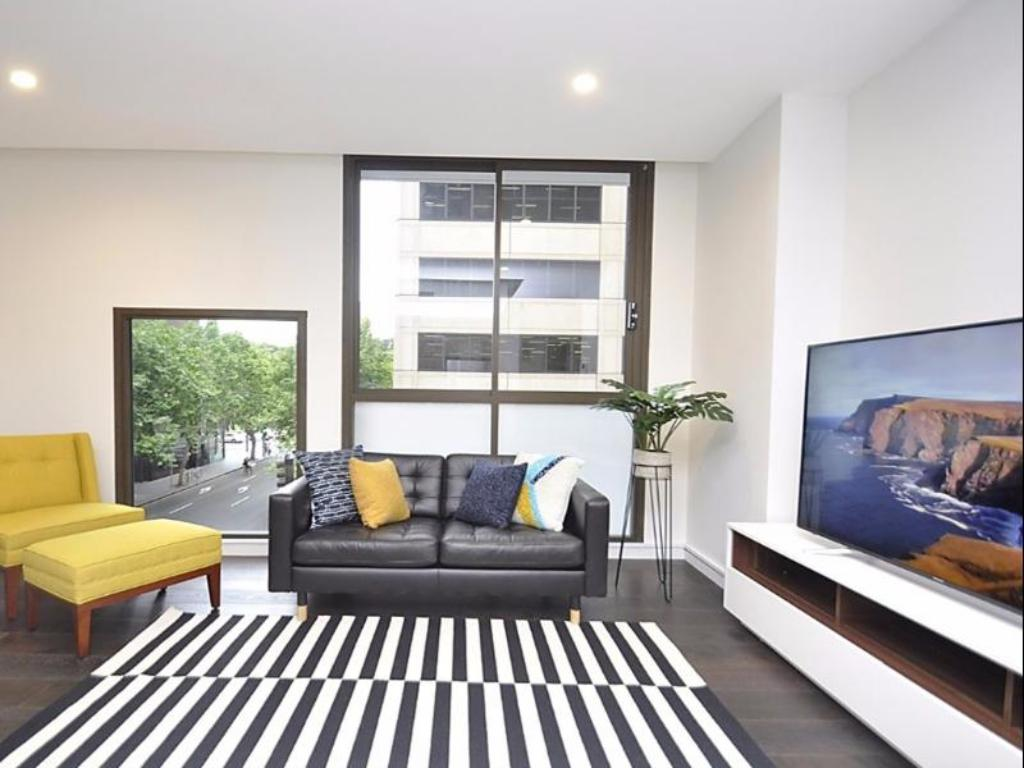 Notranjost Sydney CBD Furnished Apartments 202 Bathurst Street