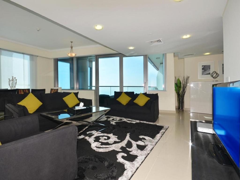 Интерьер Key One Holiday Homes-Ocean Heights 2BR5506