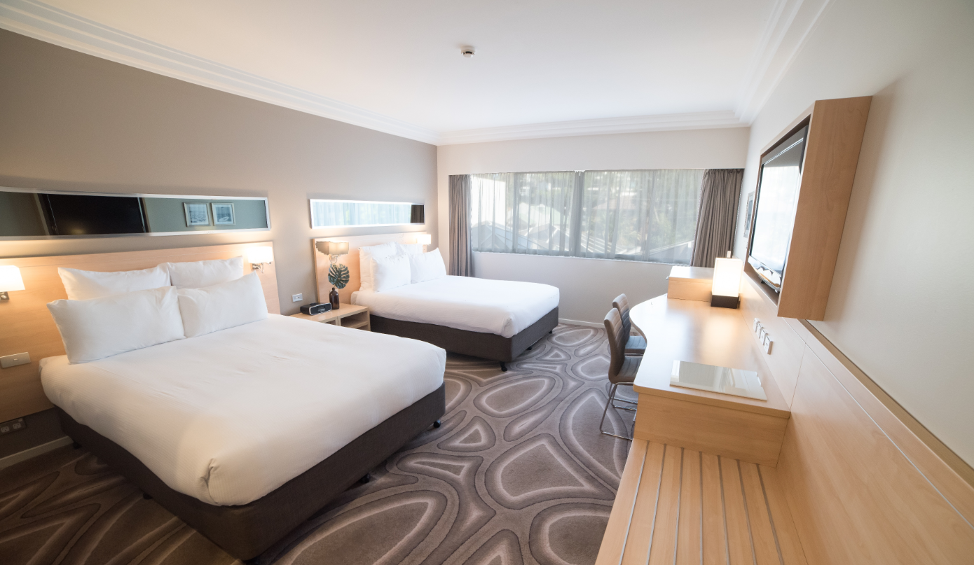 오션뷰 룸 (퀸베드 2개) (Ocean View Room with 2 Queen Beds)