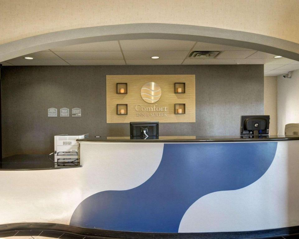 Lobby Comfort Inn and Suites Amarillo