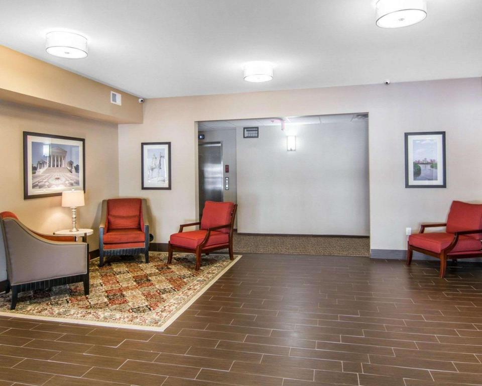 Lobby Comfort Inn South Chesterfield - Colonial Heights