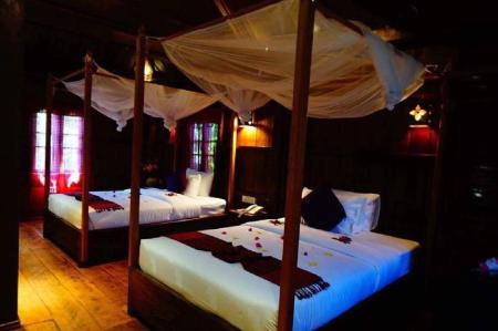 Traditional Room - View Malu Khmer Villa