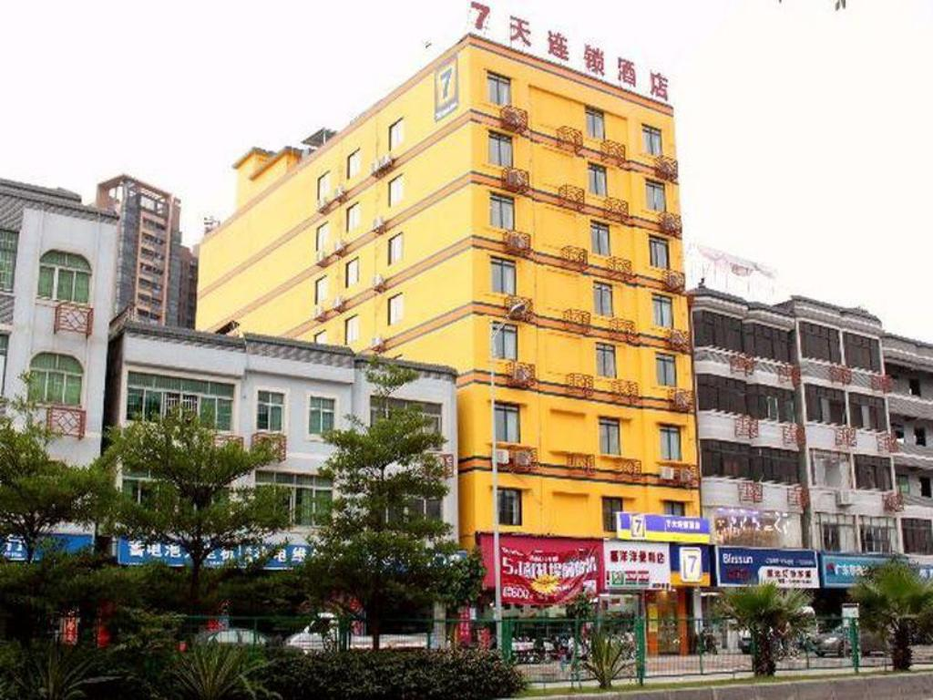 Udvendig 7 Days Inn Guangzhou Yonghe Bus Station Branch