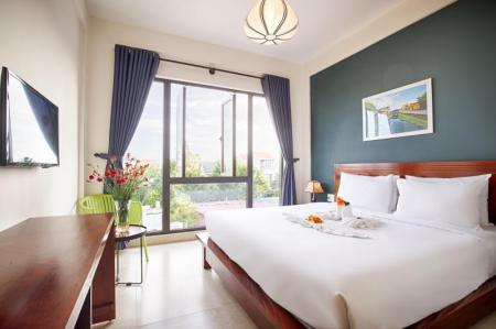 Superior Double Room Hoi An green apple hotel