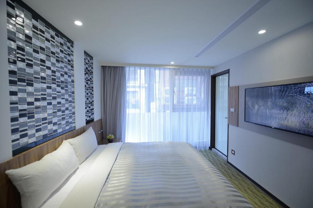Ximen hotel b in taipei room deals photos reviews for Design ximen hotel review
