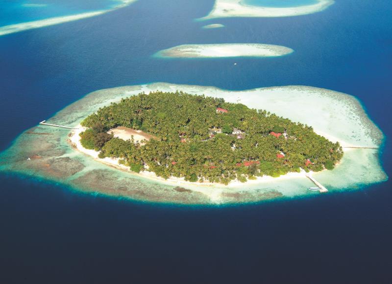Biyadhoo Island Resort, Atoll Malé Sud, (Iles Maldives, Maldives ...