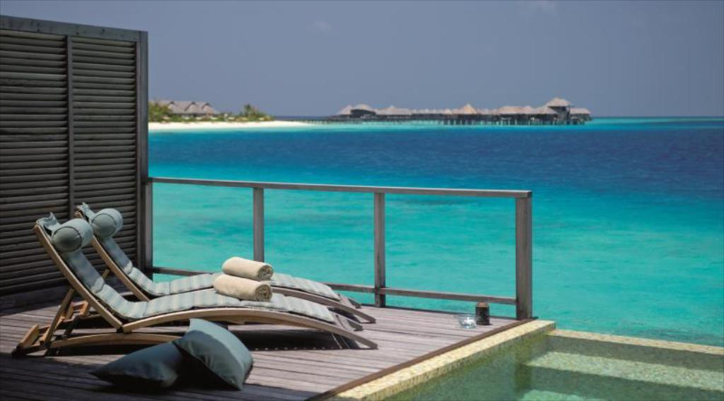 Water Villa with Private Pool - Beach Coco Bodu Hithi