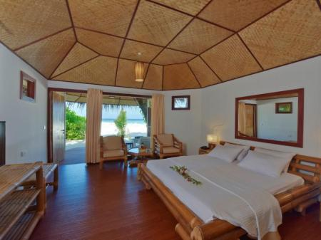 Beach Villa - Bed Thulhagiri Island Resort & Spa Maldives