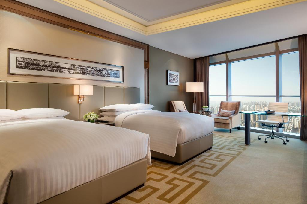 Deluxe Room, Guest room, 1 King or 2 Double - Habitació Changzhou Marriott Hotel