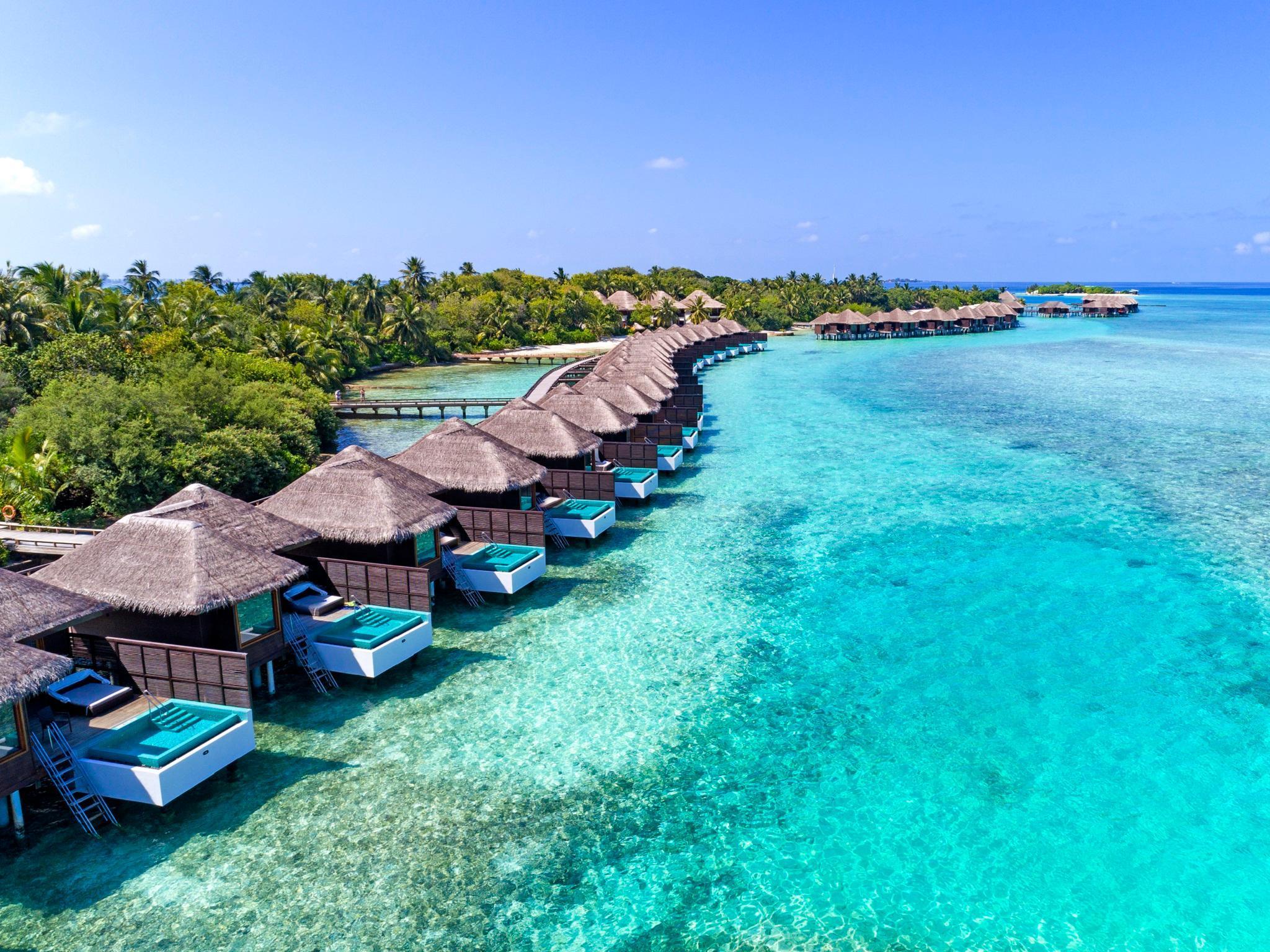 Aeroporto Male Maldive : Sheraton maldives full moon resort spa isole maldive affari