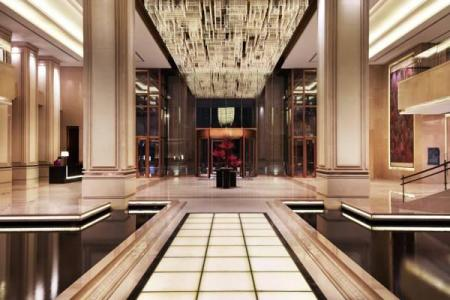Vestíbul Changzhou Marriott Hotel