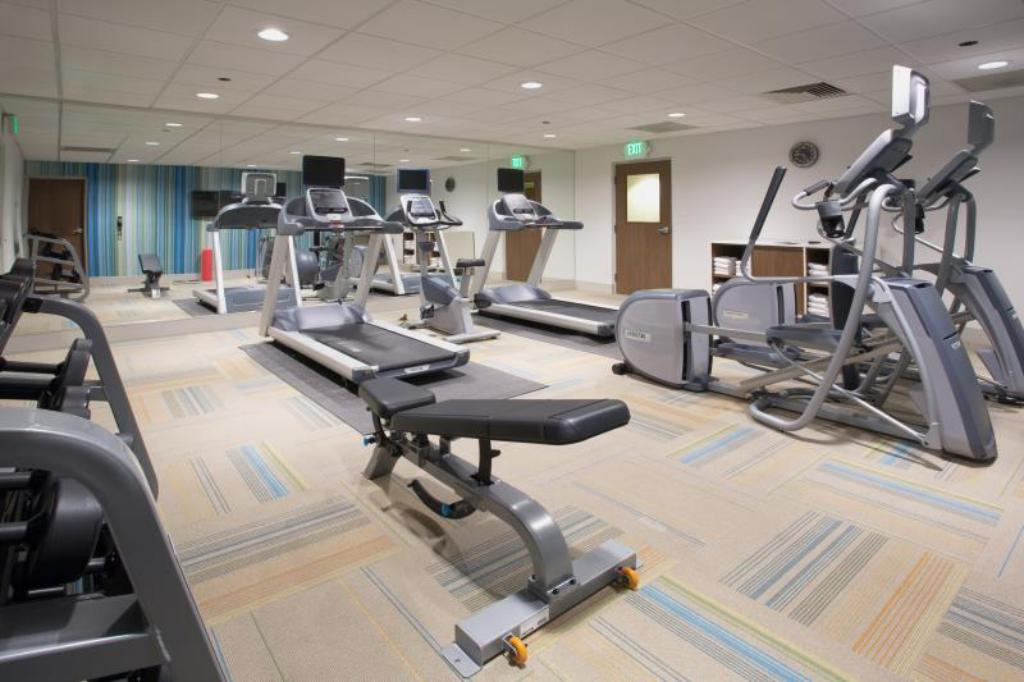 Fitness center Holiday Inn Express Troy