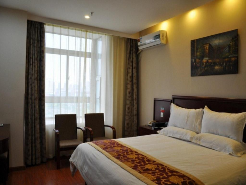 Queen Beds GreenTree Inn Xuzhou Tongshan District Norman University XueYuan Road Shell Hotel
