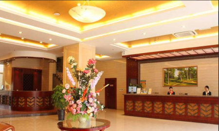 Recepció GreenTree Alliance Jiangsu Yangzhou middle Wenchang Road Municipal Government Hotel