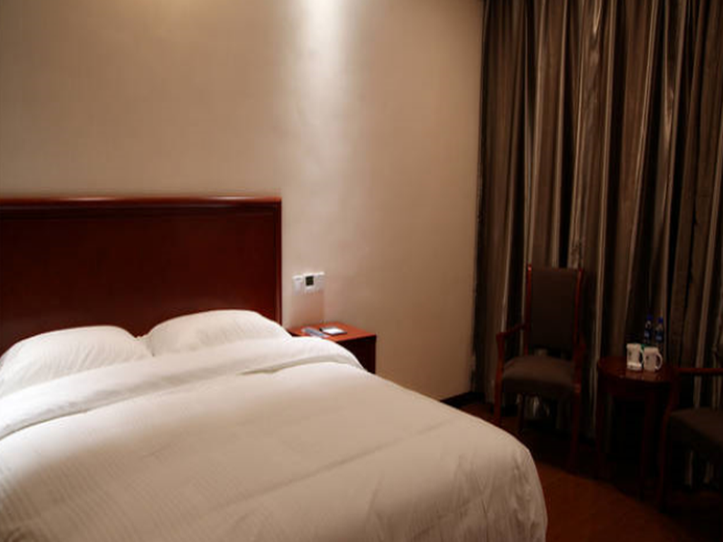 Business Kingsize Bett GreenTree Inn Dunhuang Shazhou North Road Business Hotel