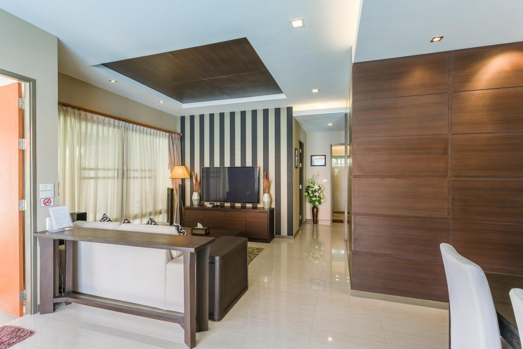 Hotellet från insidan The Ville Pool Villa Jomtien (Luxury pool Villa A23 / 3 BR 6-8 Persons)