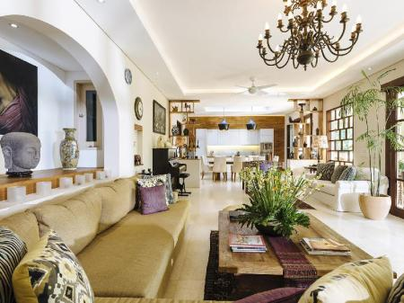 Interior view The Baganding Villa Bali- an elite haven