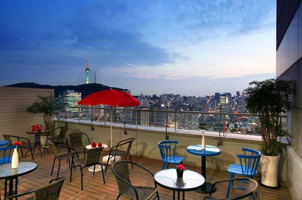 Balcony Hotel Skypark Kingstown Dongdaemun