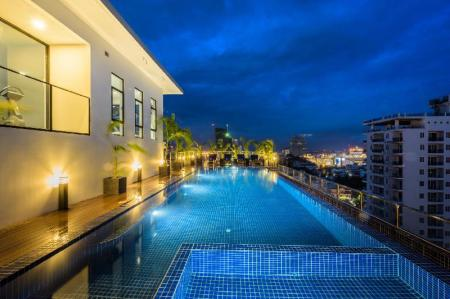 Swimming pool [outdoor] Mansion 51 Hotel & Apartment