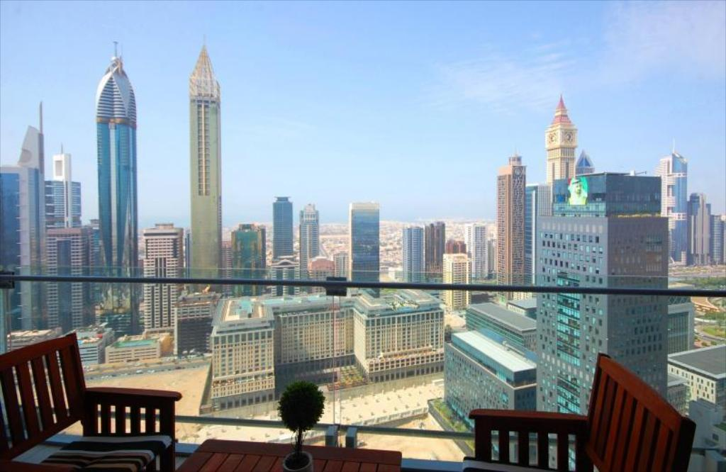 1 - One-Bedroom Apartment Kennedy Towers - Burj Daman [Dubai]