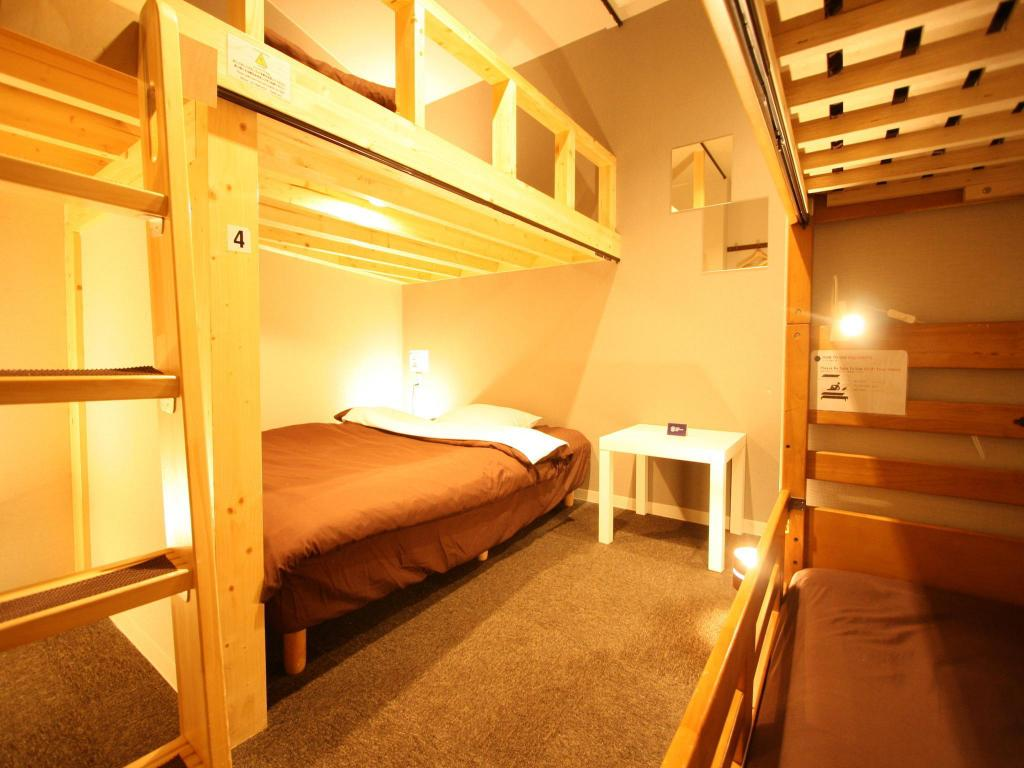 Private Room for 3 People - Room plan Osaka Guesthouse nest