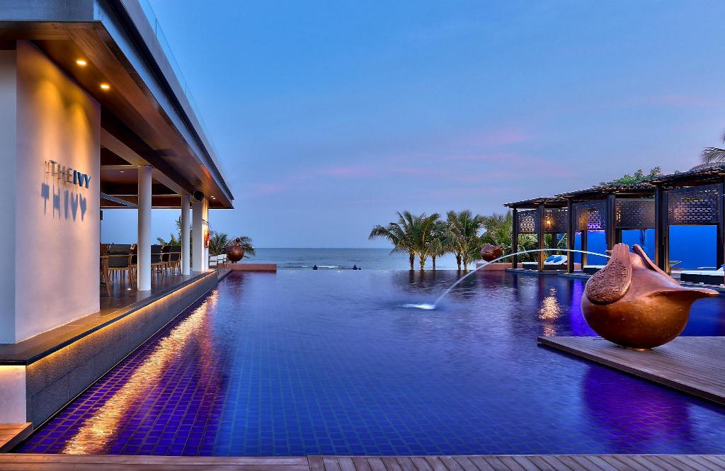 utomhuspool Ace of Hua Hin Resort