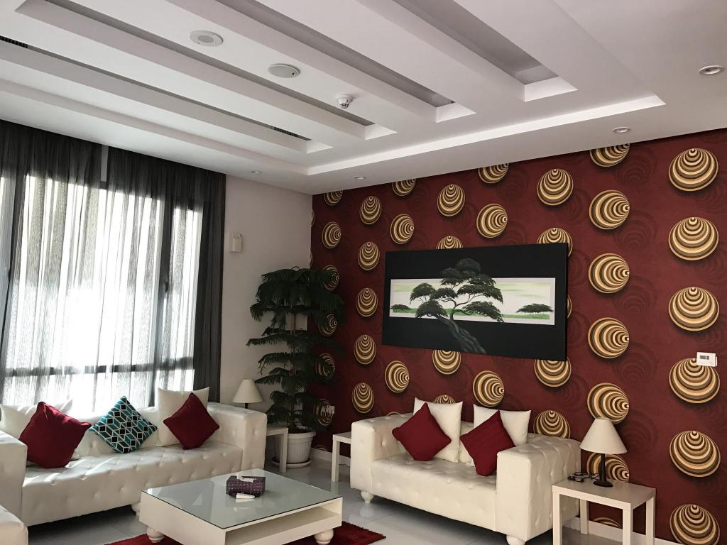 Lobby Al Muhanna Plaza Luxury Apartments