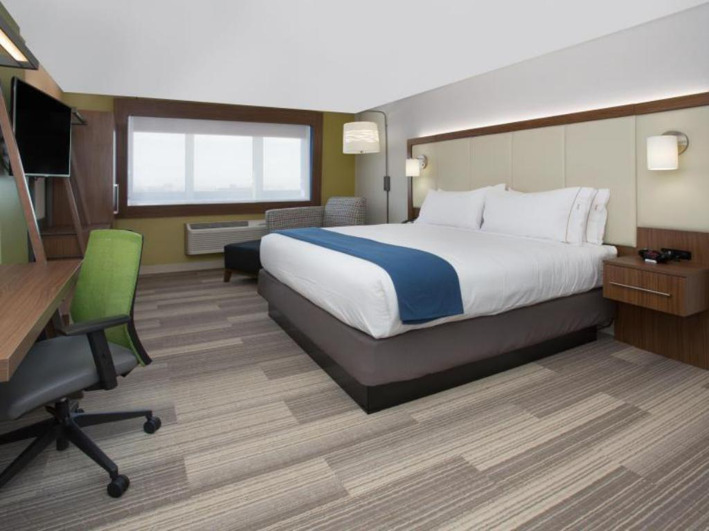 Suite Hearing Mobility Accessible Tub Non-Smoking - Viesistaba Holiday Inn Express & Suites Danville
