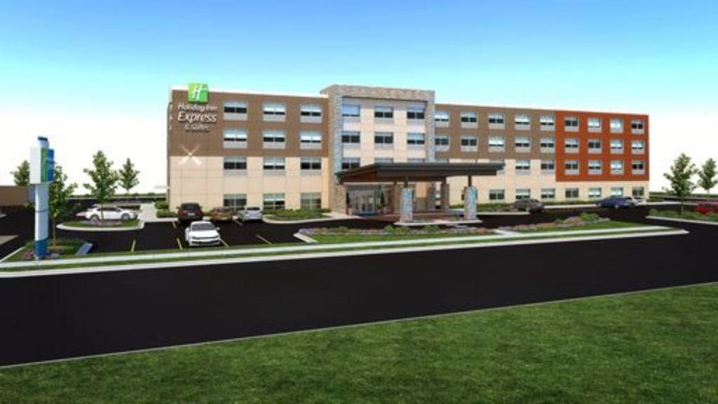 Esterno Holiday Inn Express & Suites Perryton