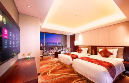 Superior City View Twin Room Xian Grand New Century Hotel