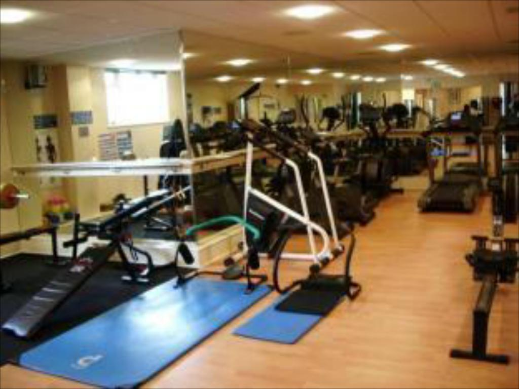 Fitness center Grand Burstin Hotel Folkstone