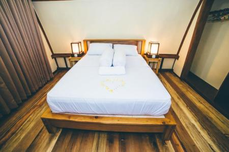 Standart Double Room - Bed Island Beach Bungalow