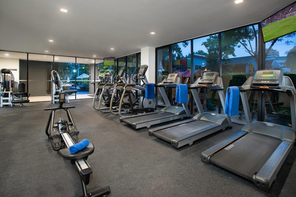 Fitness center Somerset Ekamai Bangkok