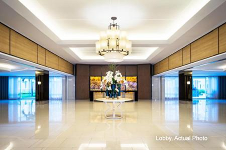 Lobby Shell Residences by Homebound Serviced Apartment