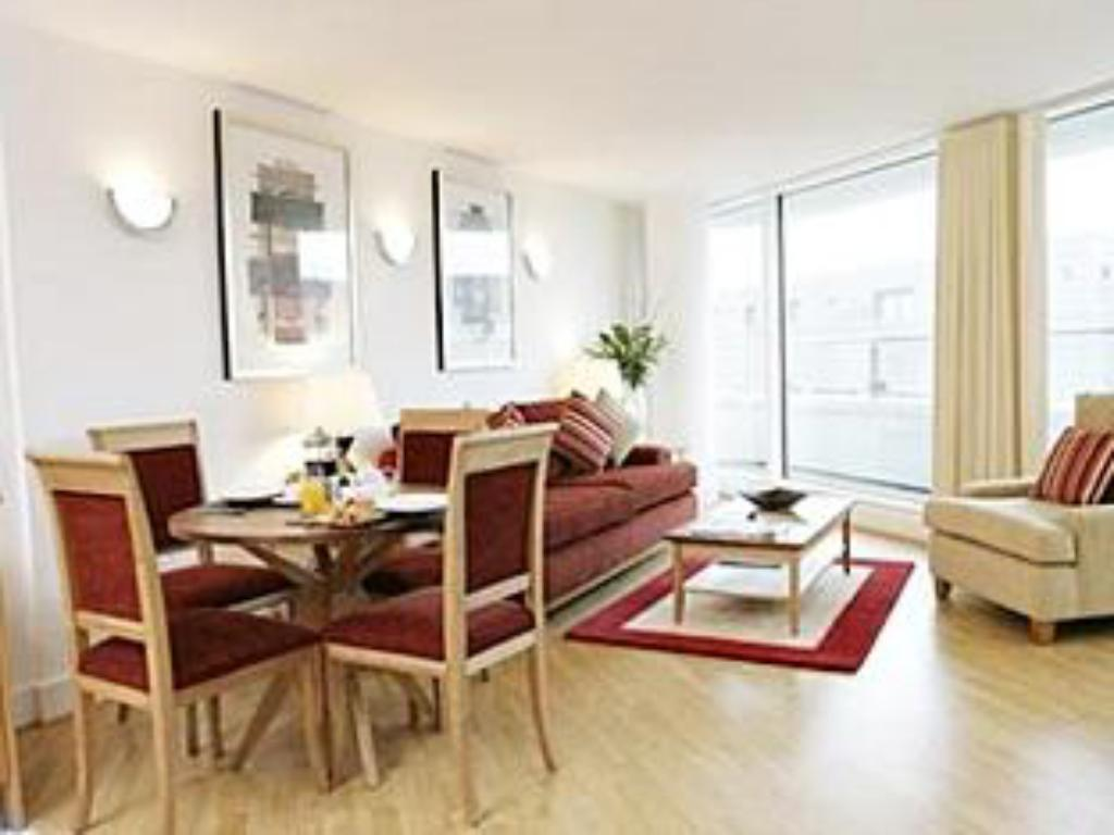 Interior view Marlin Apartments City Limehouse