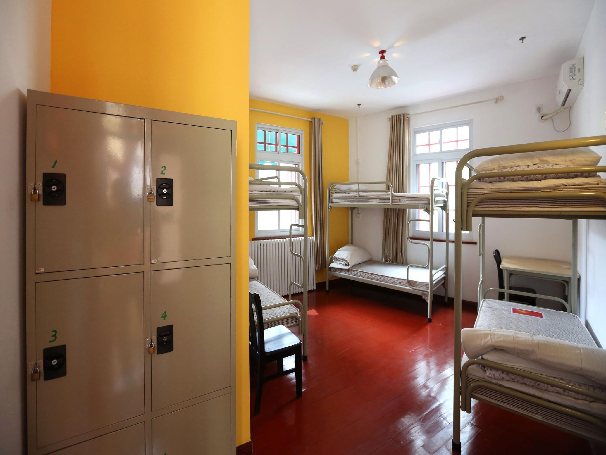 Llit individual en dormitori compartit de 6 llits ‒ Mixt (1 Person in 6-Bed Dormitory - Mixed)