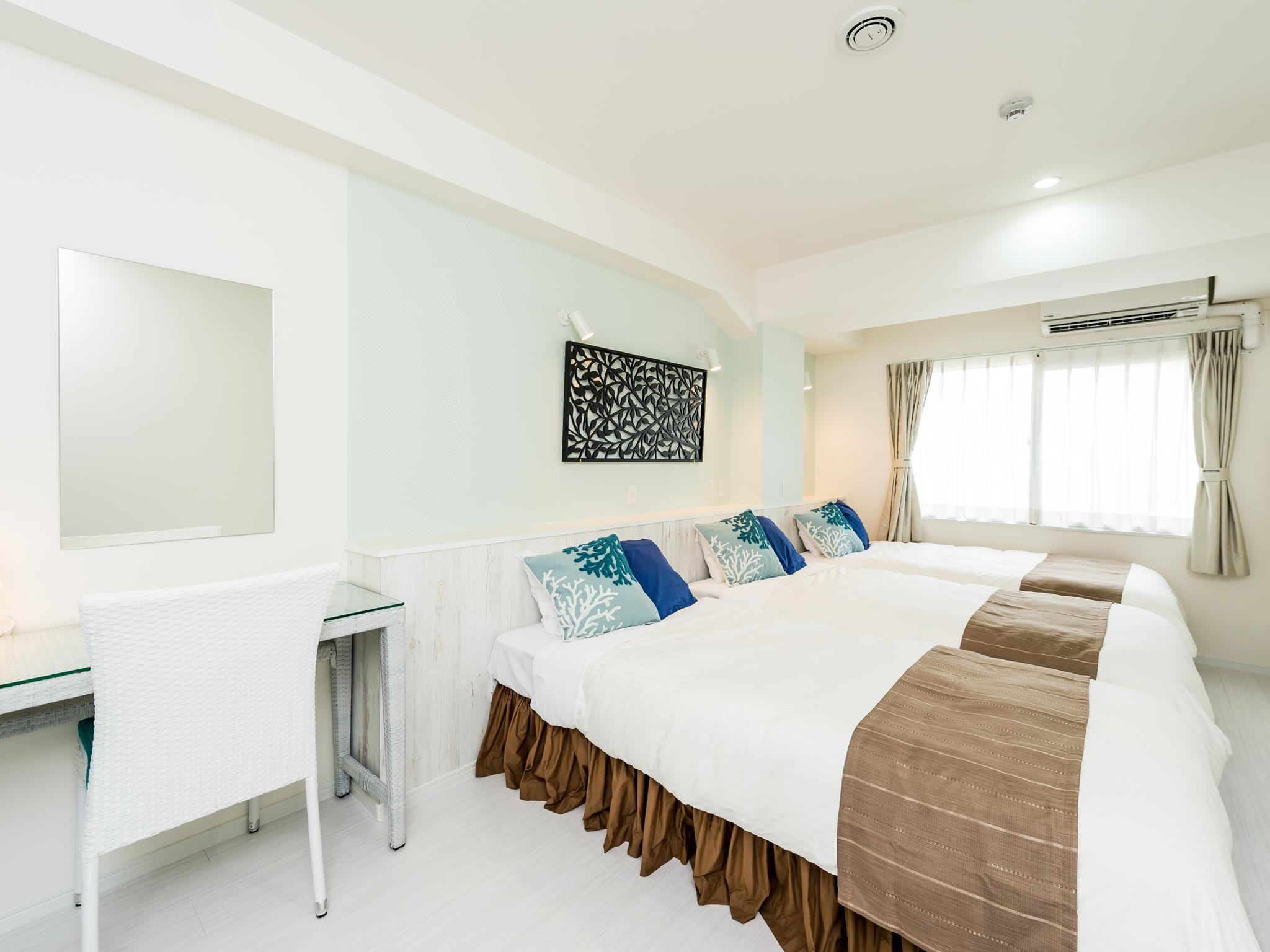 標準三人房 - 有小廚房 (Standard Triple Room with Kitchenette)