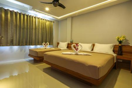 Twin Bed Air Conditioning Living Chilled Koh Tao