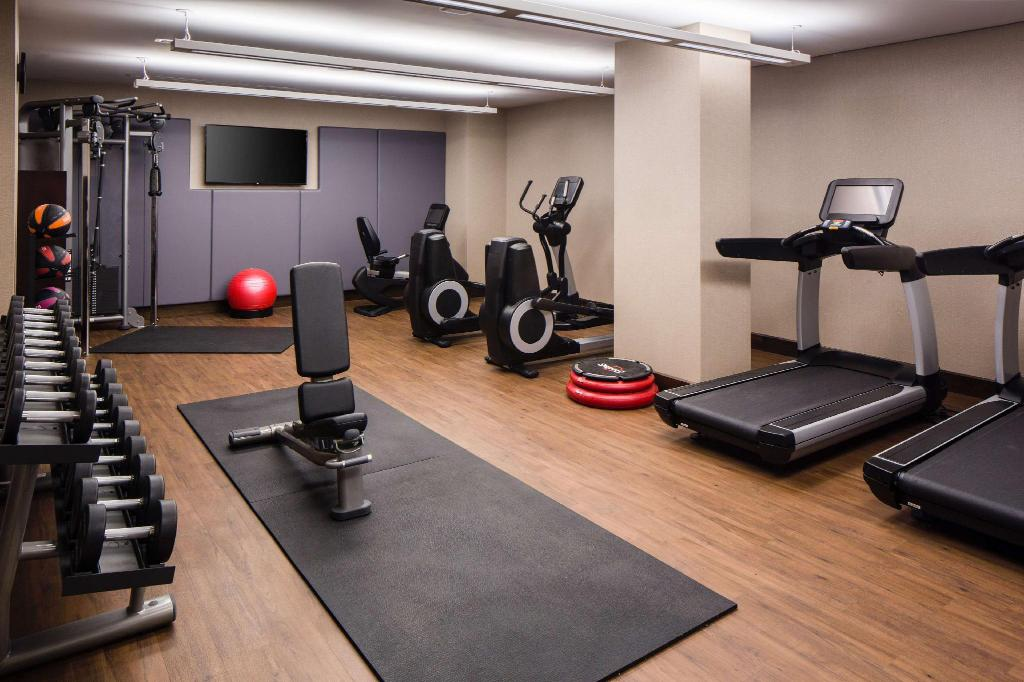 Fitness center Hilton Brooklyn New York