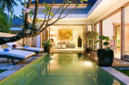 2-Bedroom Garden View Villa with Private Pool Bali Taman Sari Villas & Restaurant
