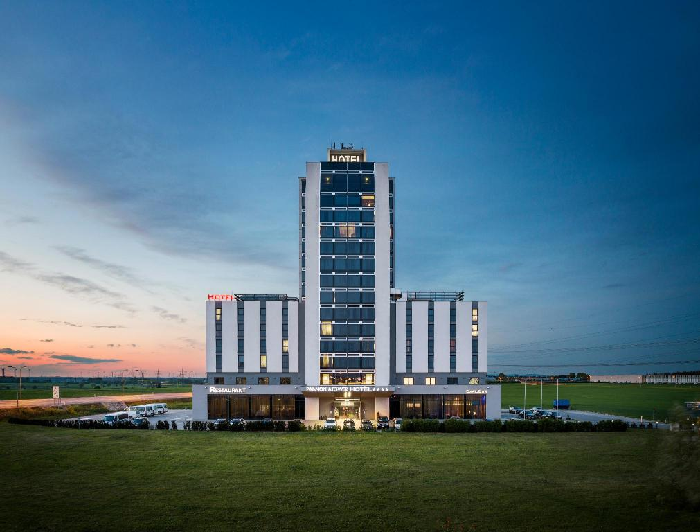 Best Price on Pannonia Tower Hotel in Parndorf + Reviews! 19ee38a3e6a