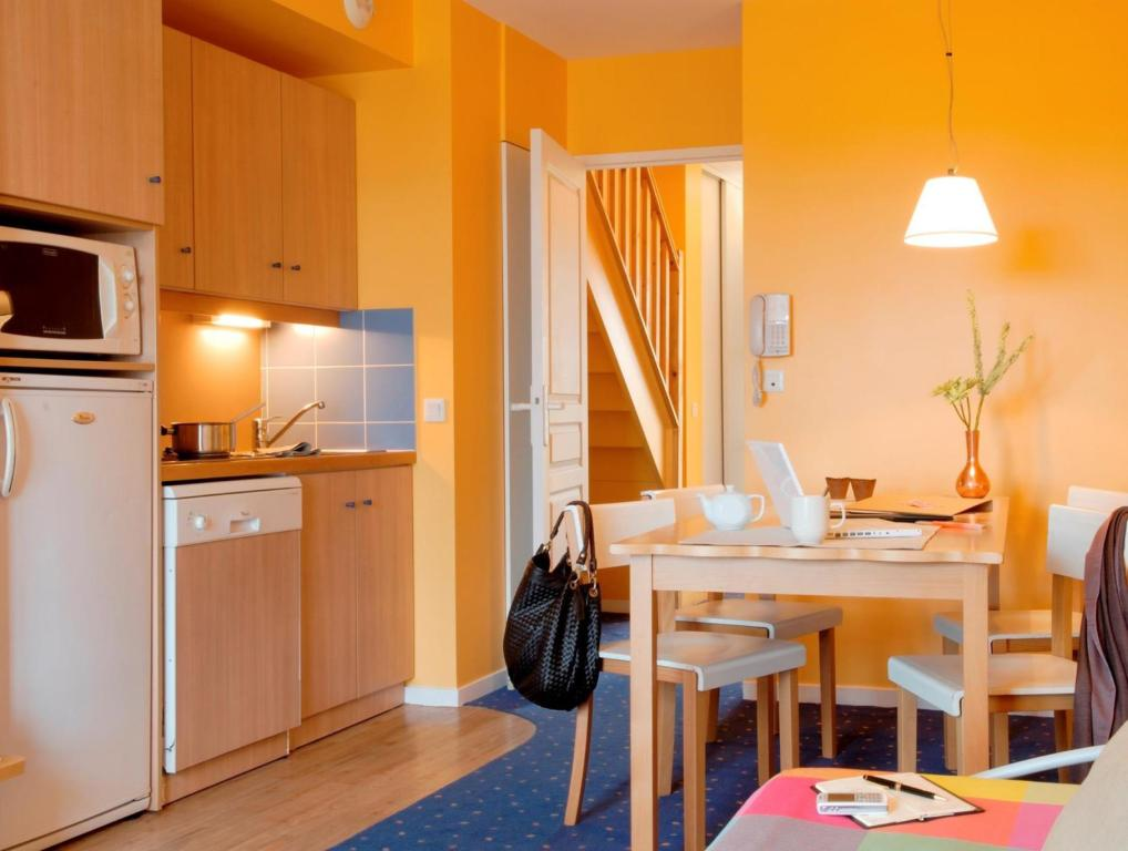 Phòng Studio 3 người - Nhà bếp Adagio Marne La Vallee Val D Europe  Aparthotel