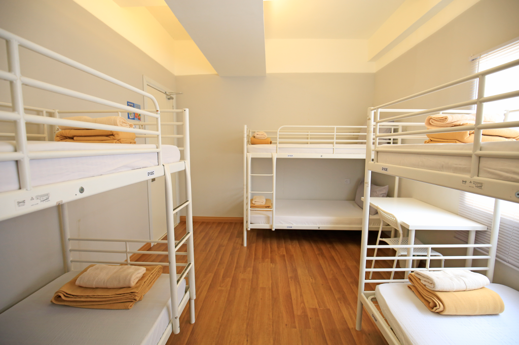 Dormitory 8-Bed - Room plan