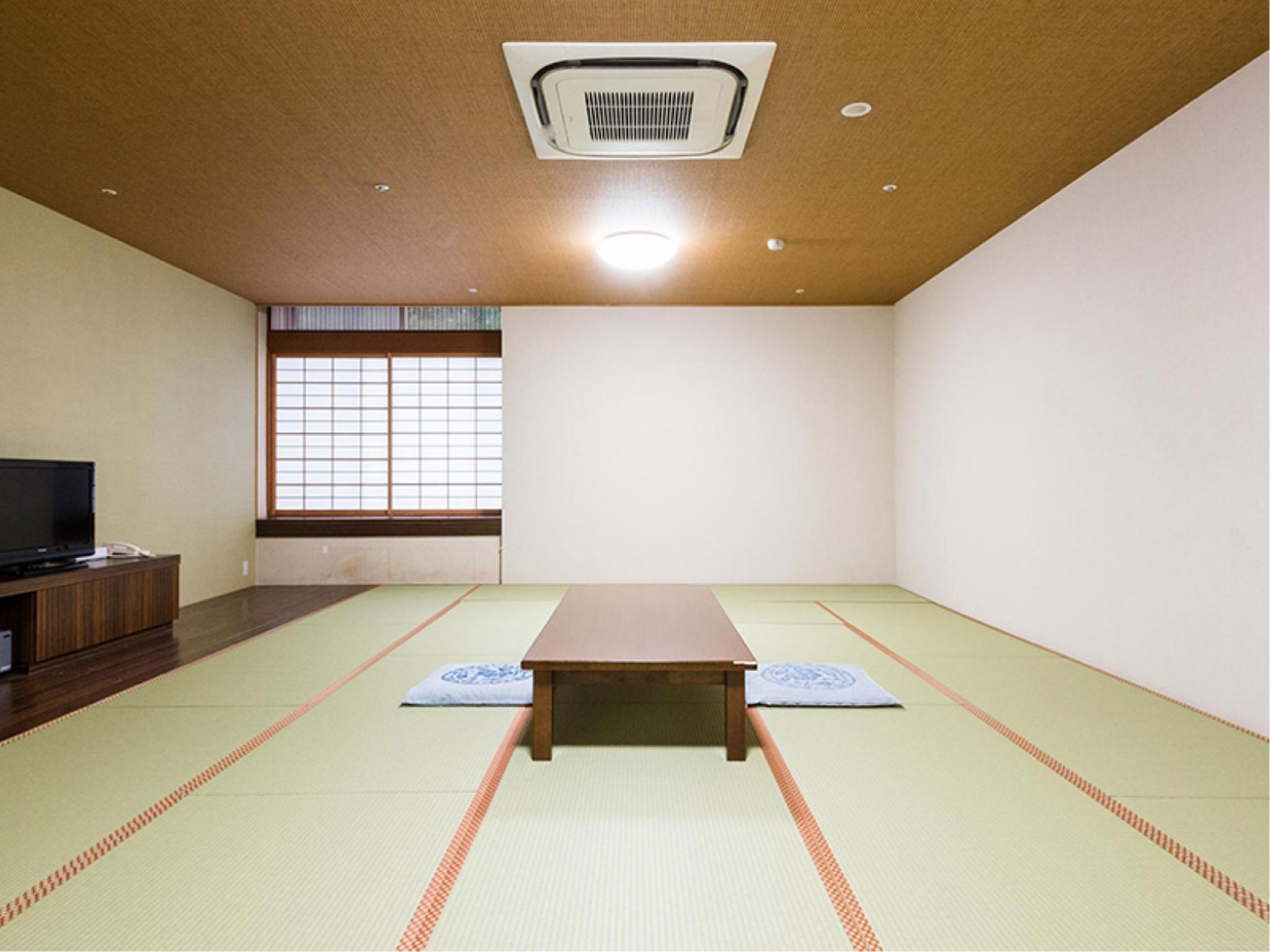 【禁煙】奥殿棟15畳※風呂無 (Japanese-style Room (Okutono Wing) *No bath in room)