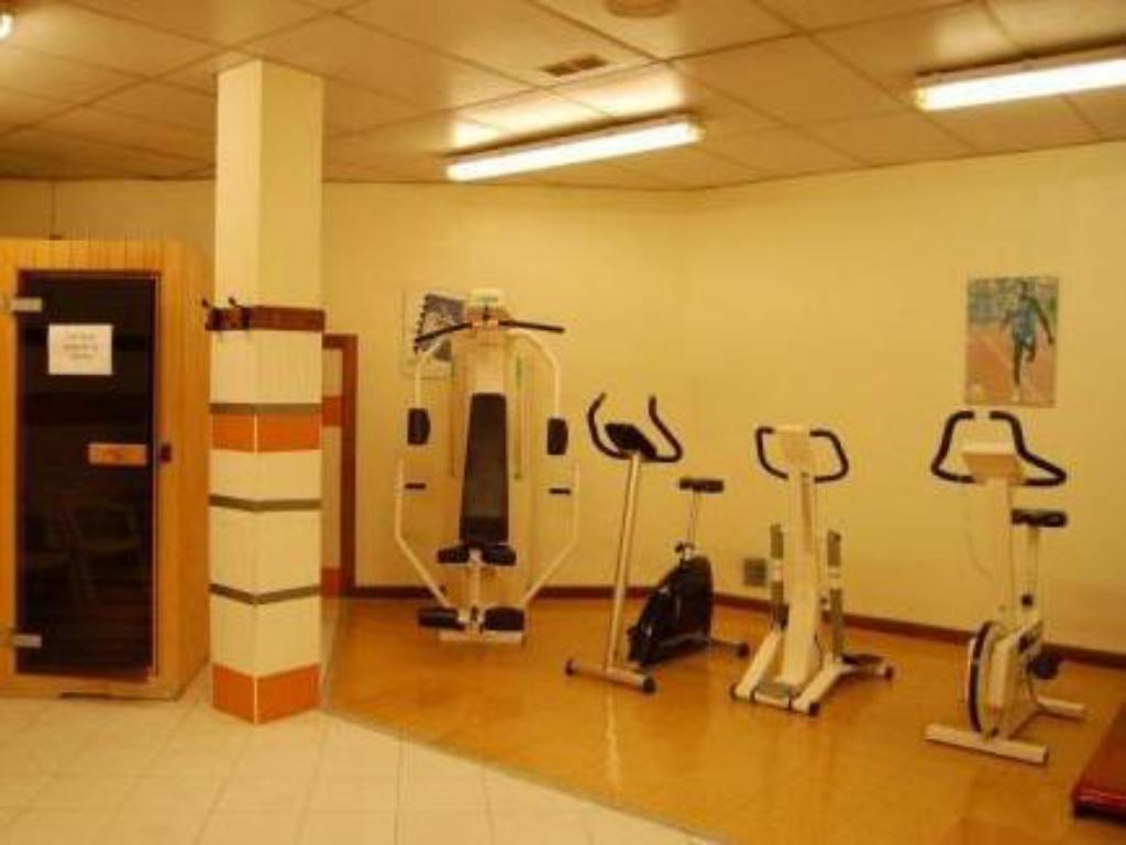 Fitness center Hotel Alaiz