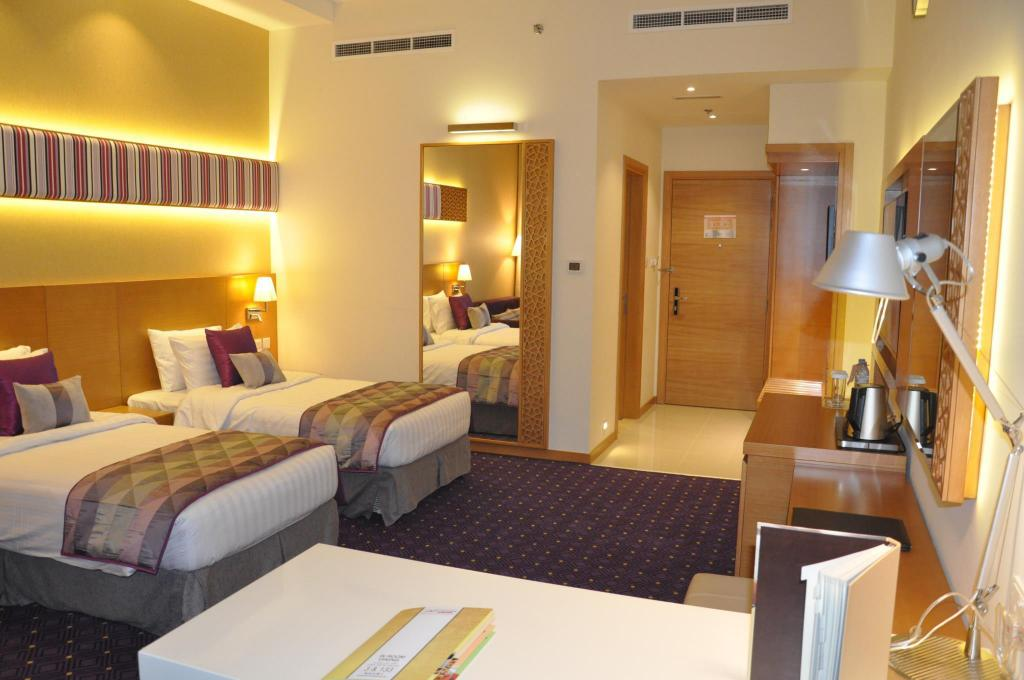 Deluxe Twin Room - Guestroom Fortune Park Hotel Dubai Investments Park