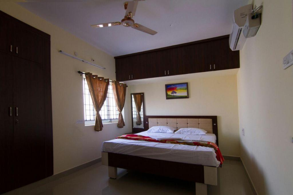 Double Air Conditioning - Guestroom Viswa Serviced Apartments