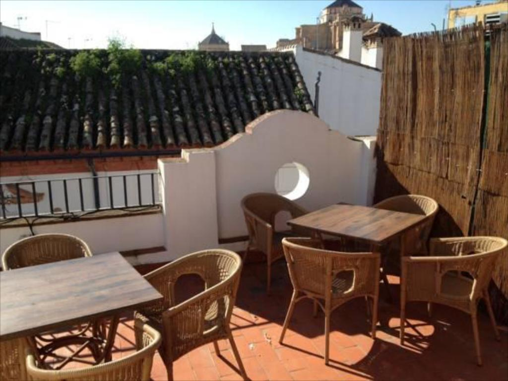Balcony/terrace Pension Cibeles
