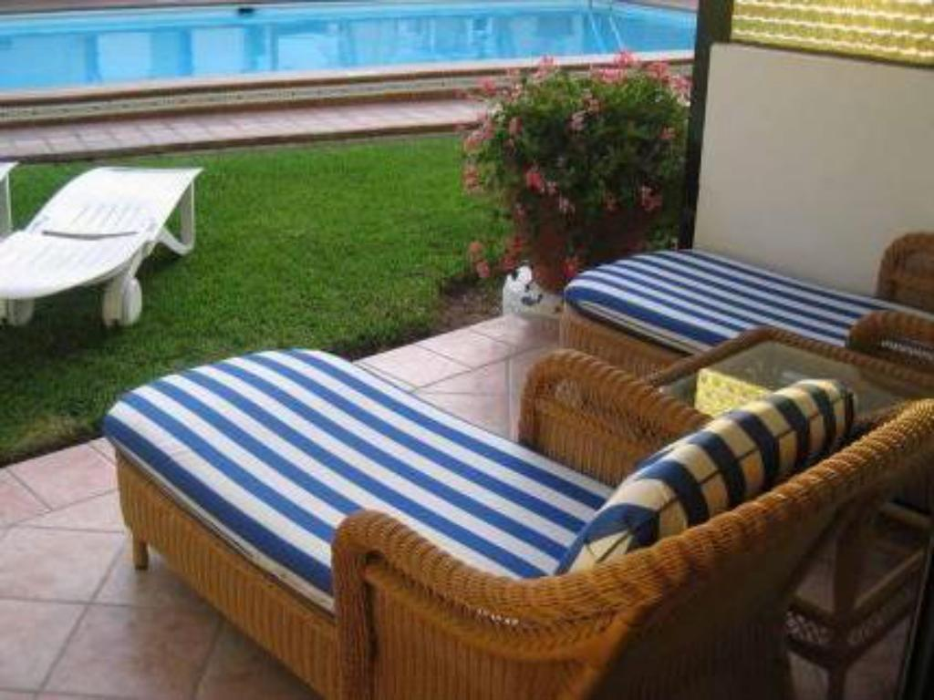 One-Bedroom Apartment (1-3 Adults) - Outside seating area VIP Apartamentos Nogal- Adults Only